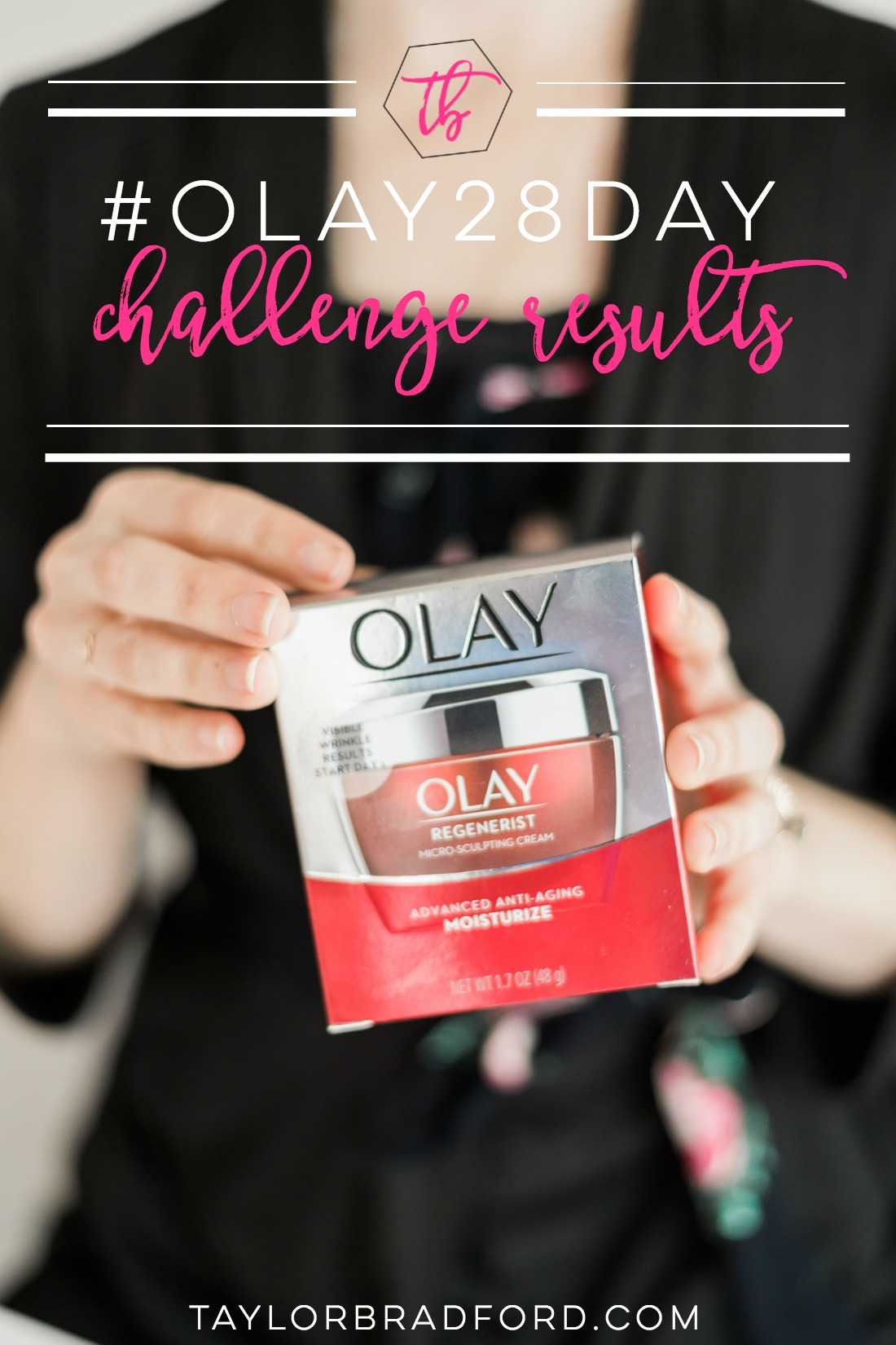 Take a look at my #olay28day challenge results & why I'm a HUGE fan of this drugstore skincare company!! (AD)