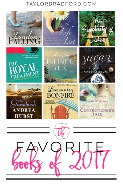 FAVORITE BOOKS OF 2017