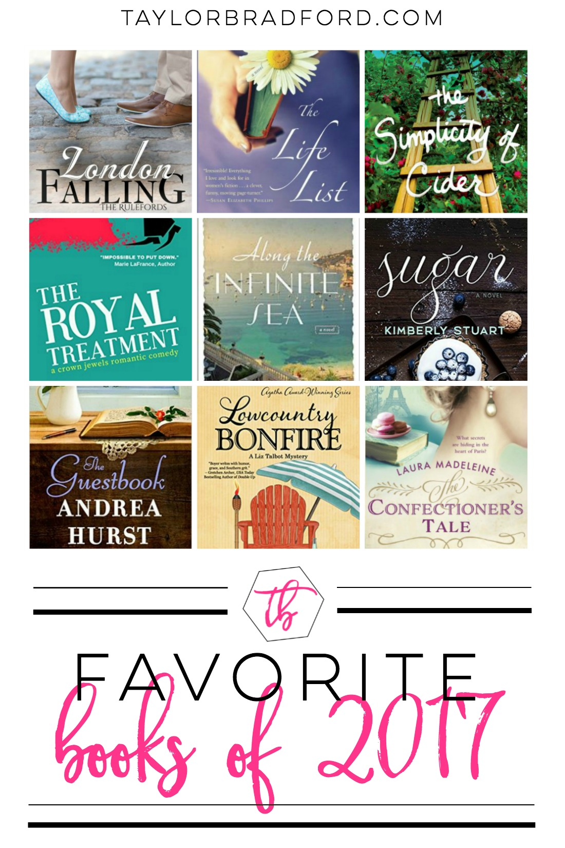 Check out what made the list for my all-time favorite books of 2017! So many good picks this year and thus a lot of favorites!