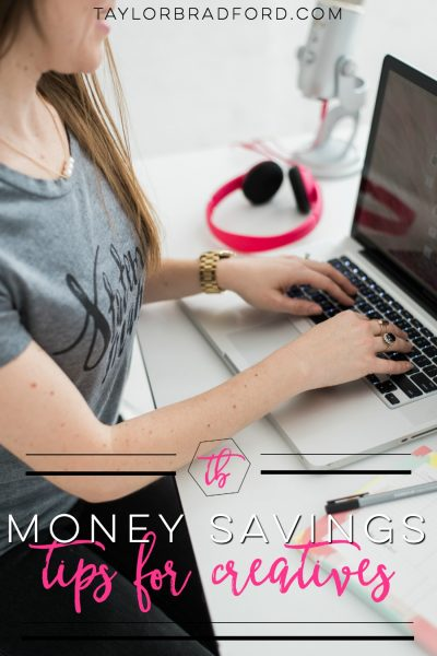 4 MONEY SAVING TIPS FOR CREATIVE ENTREPRENEURS #OWNMYFUTURE