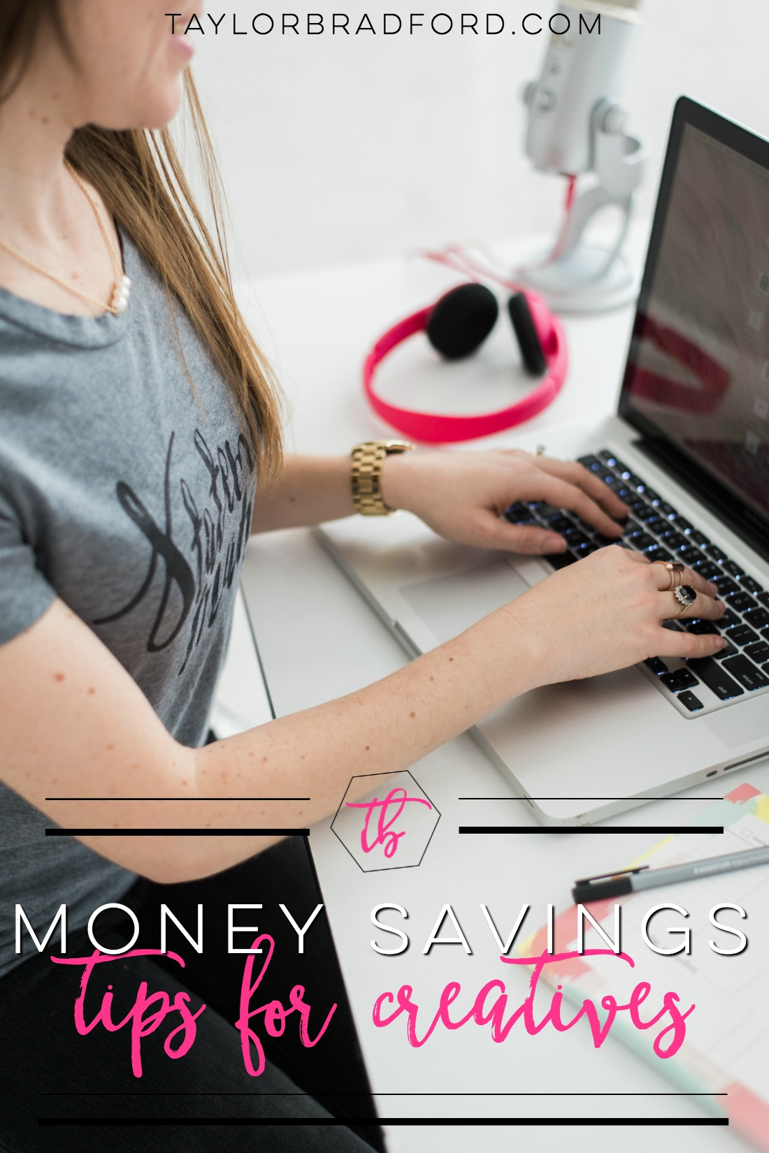 Financial planning for retirement can be a scary thought process for creatives! I'm sharing 4 Money Saving Tips for Creative Entrepreneurs as Part 1 in a 3 part series!! #OWNMYFUTURE (sponsored)