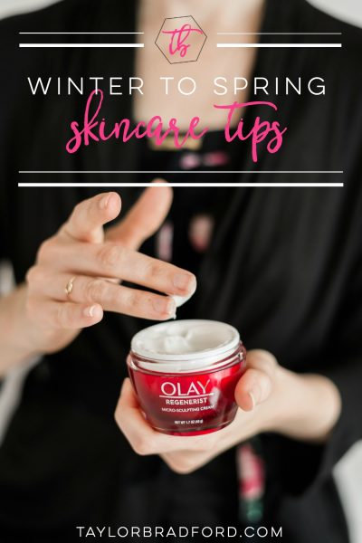 3 WINTER TO SPRING SKINCARE TIPS FOR THE #GIRLONTHEGO