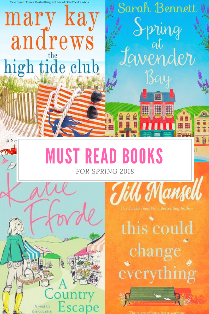 You are going to love this list of books for spring! I've got 9 Amazing Books to read this Spring and I'm sure you are going to find your next book to add to your TBR list!