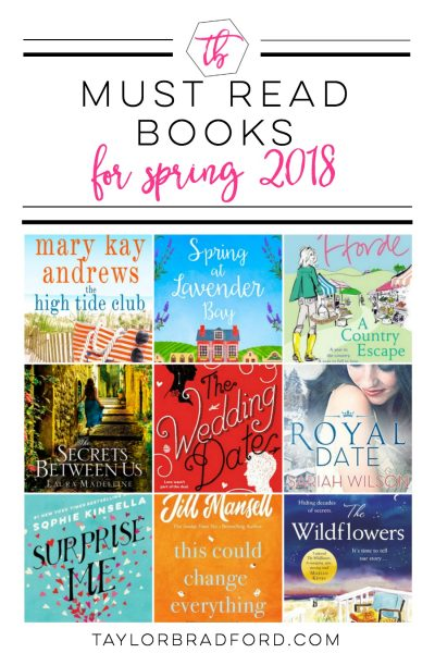 MUST READ BOOKS FOR WOMEN – SPRING 2018