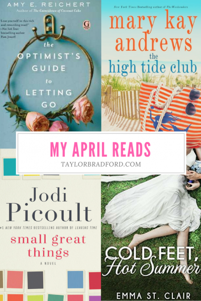 WHAT I READ – APRIL 2018
