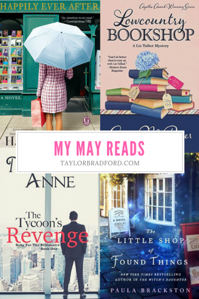 WHAT I READ – MAY 2018