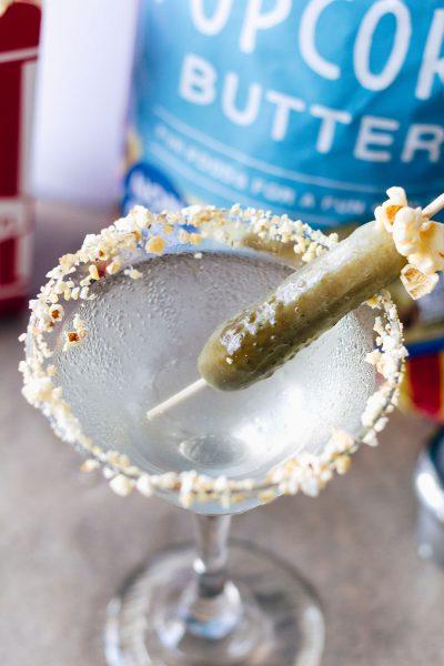 Pickle Pop Martini #makingflavorpop