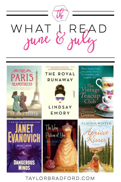 WHAT I READ – JUNE & JULY 2018