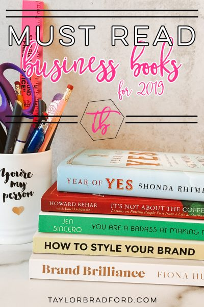 Looking to uplevel yourself and your business this year? Pop over to this post to see what I'm recommending + other books recommended by some of my community members!